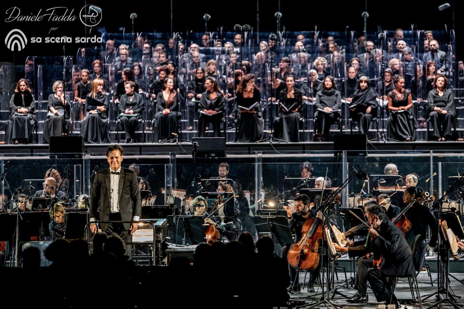 Morricone dirige Morricone - Omaggio ad Ennio Morricone - Andrea Morricone omaggia il padre Ennio - Daniele Fadda - Teatro Lirico - Arena Parco della Musica - Cagliari - 2020 - Sa Scena Sarda - 25 settembre 2020