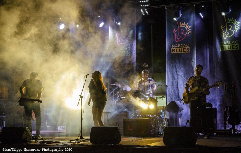Eleonora Usala - Bad Blues Quartet - Gianfilippo Masserano - Talkin' Blues - Simone Murru - Intervista - Cagliari Blues Radio Station - Sa Scena Sarda - 17 Ottobre 2020