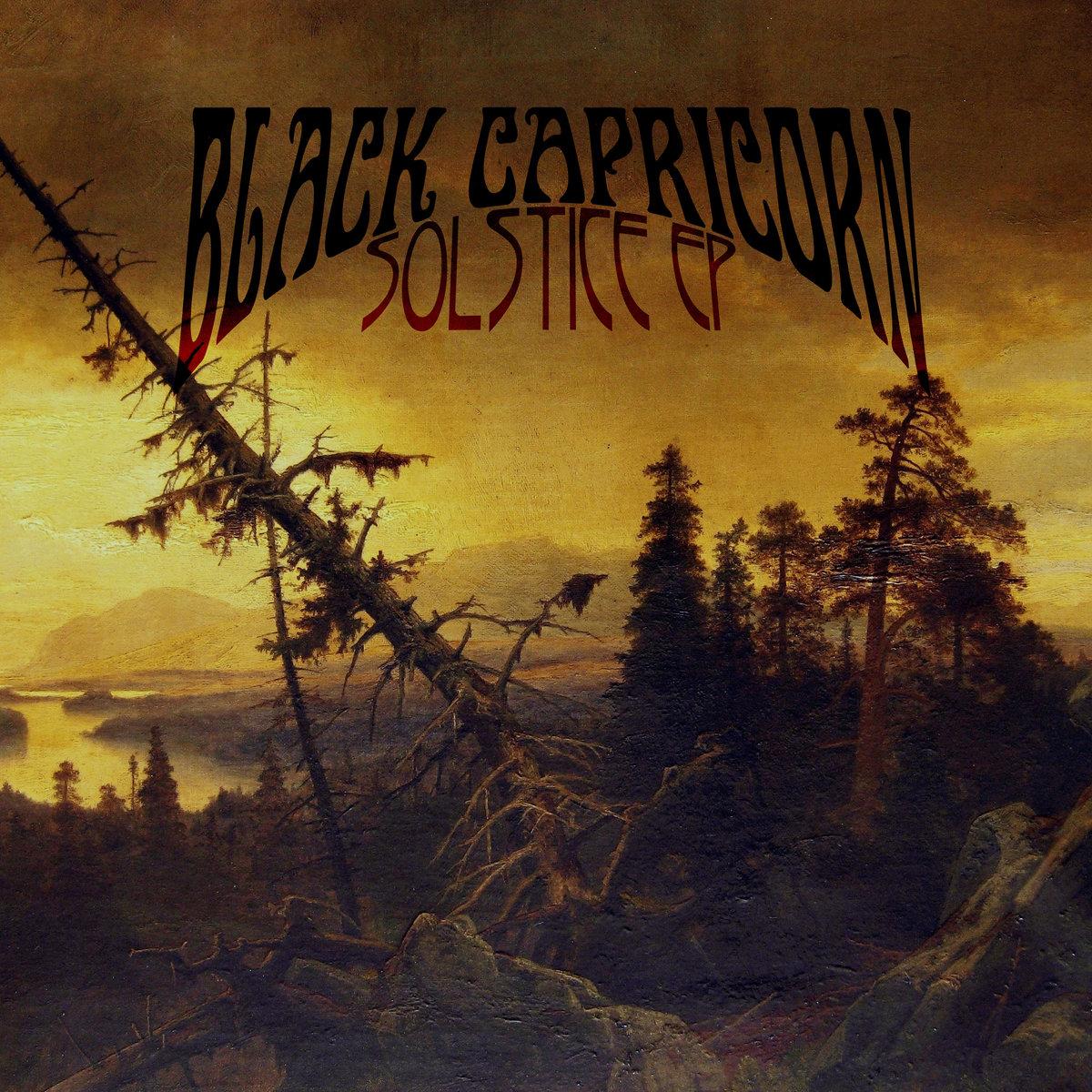 Black Capricorn - Solstice - ep - DHU Records - doom - Cagliari - 2020 - Sa Scena Sarda