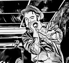 Marco Farris - Diego Balzano Talkin' Blues - Simone Murru - Intervista - Cagliari Blues Radio Station - 2020 - Sa Scena Sarda - _ luglio 2020