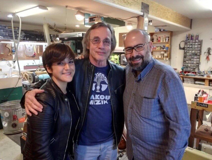 Irene Loche - Jackson Browne - Gianluca Canu - NAMM Show - intervista - Cagliari Blues Radio Station - Talkin' Blues - Simone Murru - 2020 - Sa Scena Sarda - 6 dicembre 2020