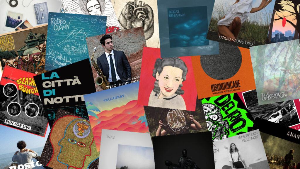 collage dischi 2020 - editoriale 2020 - sa scena