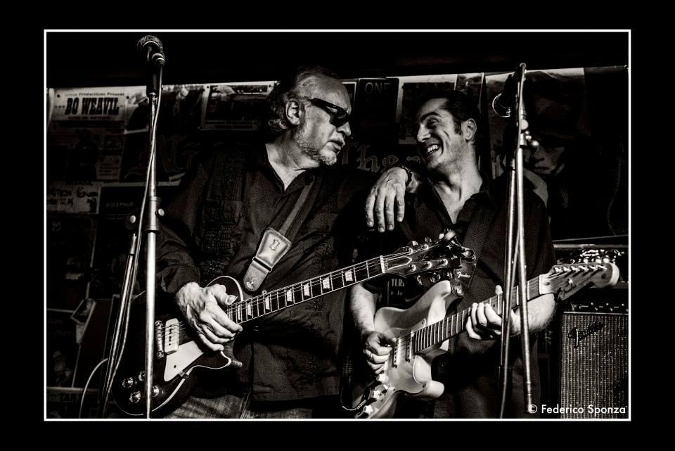 Entico Polverari - Bob Margolin - Federico Sponza - Talkin' Blues - intervista - Cagliari Blues Radio Station - Simone Murru - 2021 - Sa Scena - 30 gennaio 2021