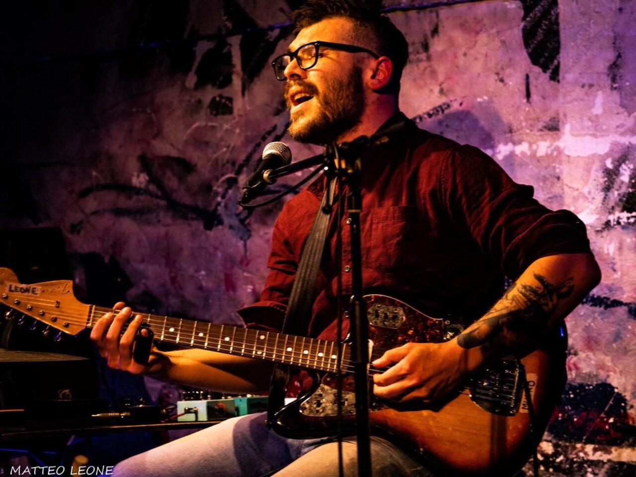 Matteo Leone - Masami Gan-Fune - Talkin' Blues - intervista - Cagliari Blues Radio Station - Simone Murru - 2021 - Sa Scena - 27 marzo 2021