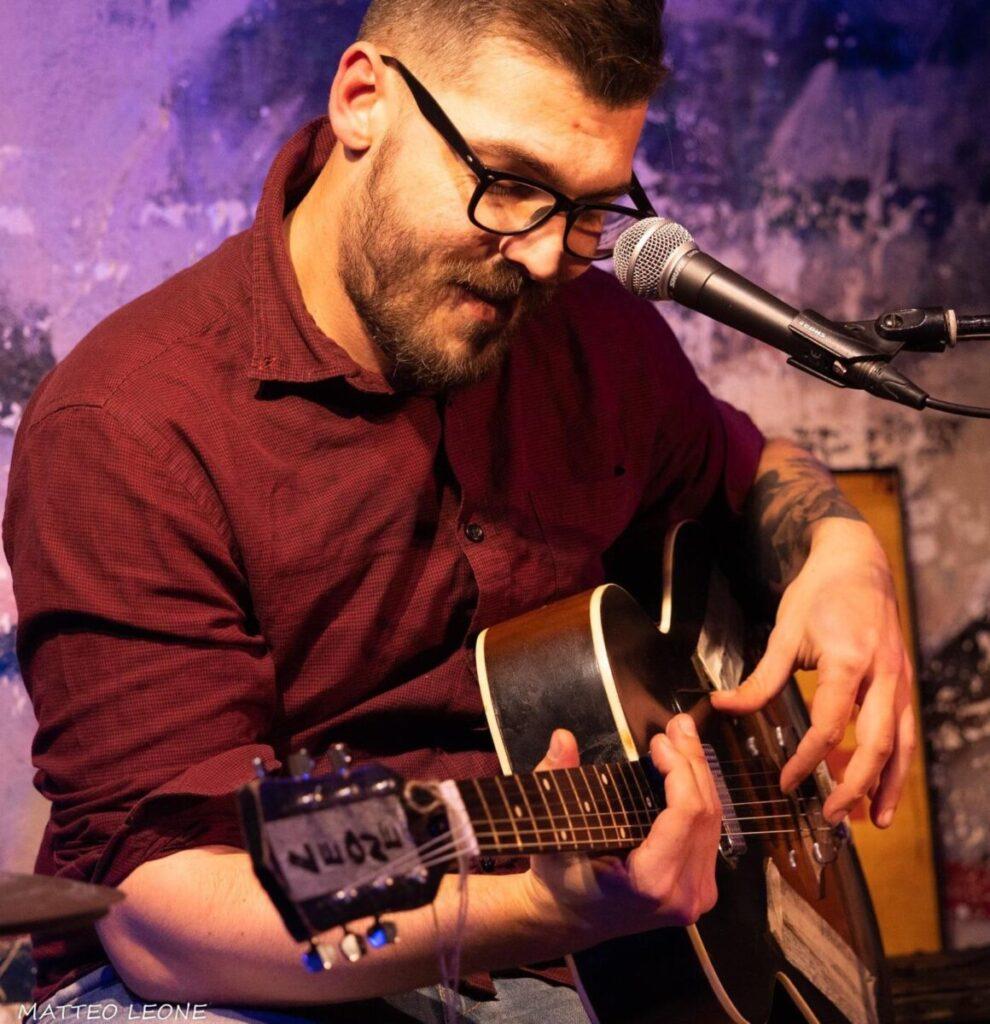 Matteo Leone - Masami Gan Iwafune - Talkin' Blues - intervista - Cagliari Blues Radio Station - Simone Murru - 2021 - Sa Scena - 27 marzo 2021