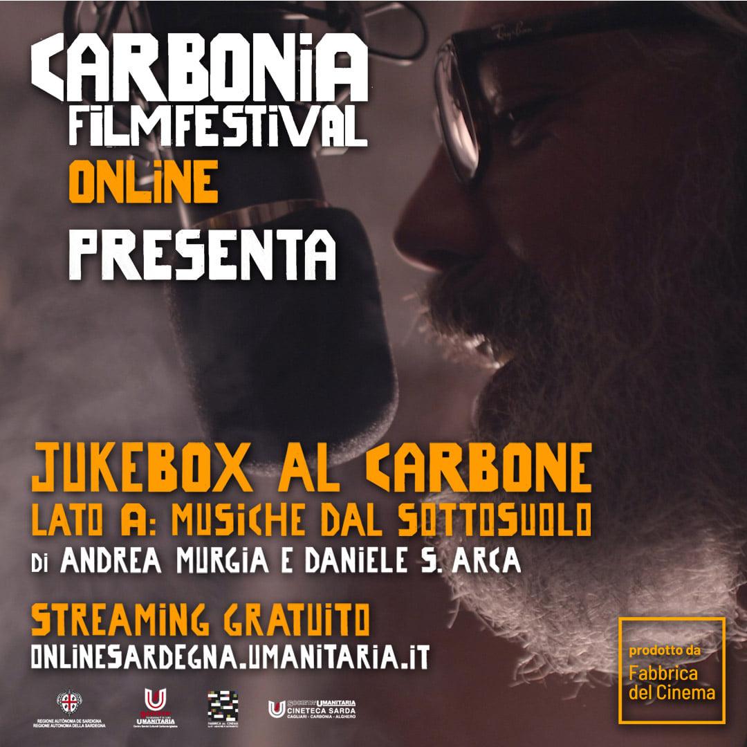 Carbonia Film Festival - Jukebox al Carbone - Lato A: Musiche dal Sottosuolo - Andrea Murgia - Daniele Arca - CSC Società Umanitaria - Carbonia - Iglesias - news - 2021 - Sa Scena - 23 marzo 2021