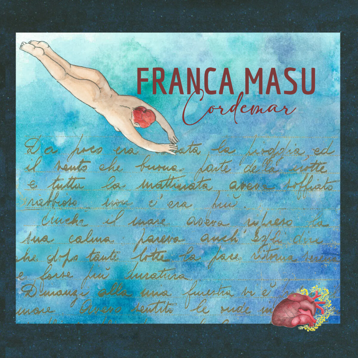 Franca Masu - Cordemar - WMusic - Alghero - 8 aprile 2021 - Spotify - ascolti - 2021 - Sa Scena - 19 aprile 2021