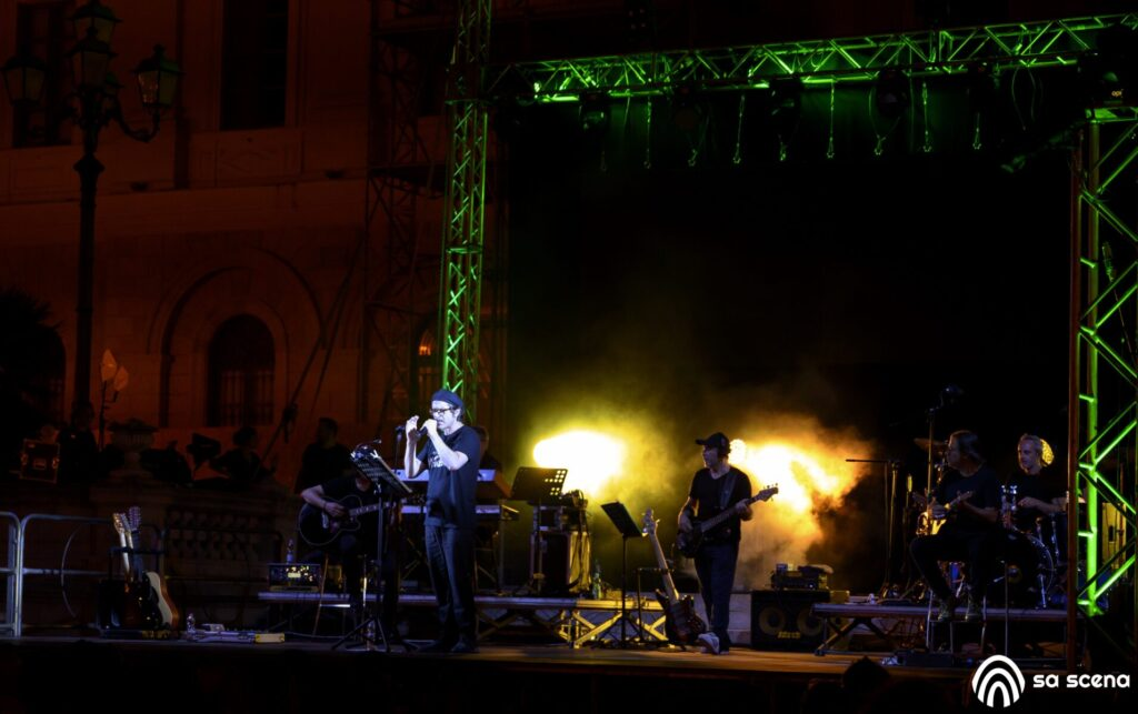Abbabula Festival - Samuele Bersani - Sassari - festival - live report - Federico Murzi - 2021 - Sa Scena - 12 agosto 2021