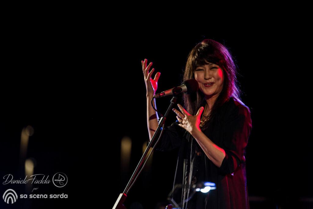 NoraJazz - Youn Sun Nah - Ulf Wakenius - Daniele Fadda - Teatro Romano di Nora - festival - 5 agosto 2021 - report - 2021 -Sa Scena -
