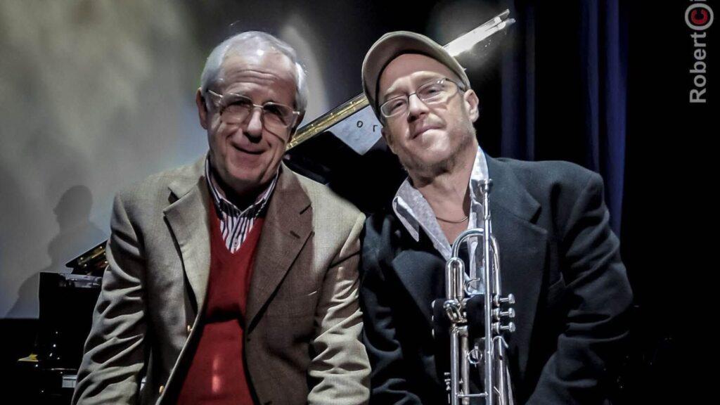 La Notte dei Poeti - Franco D'Andrea - Dave Douglas - Roberto Cifarelli - Nora - Teatro Romano - live report - Claudio Loi - 2021 - Sa Scena - 3 agosto 2021