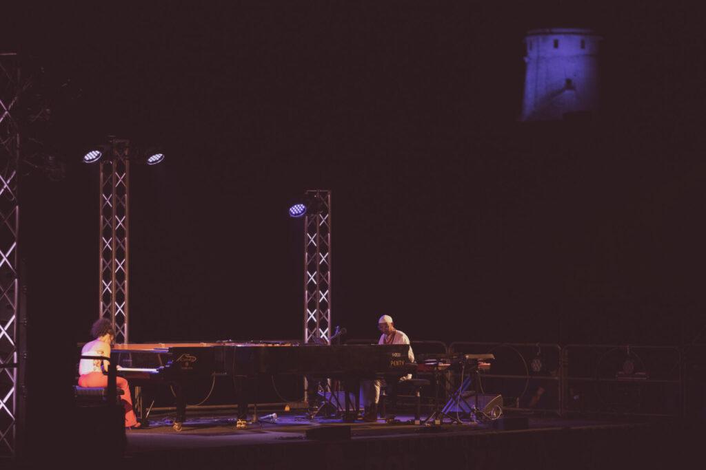 Nora Jazz - Marialy Pachecho - Omar Sosa - Barbara Pau - festival - Nora - Anfiteatro Romano - 31 luglio 2021 - live reort - Simone La Croce - Claudio Loi - 2021 - Sa Scena - 20 agosto 2021