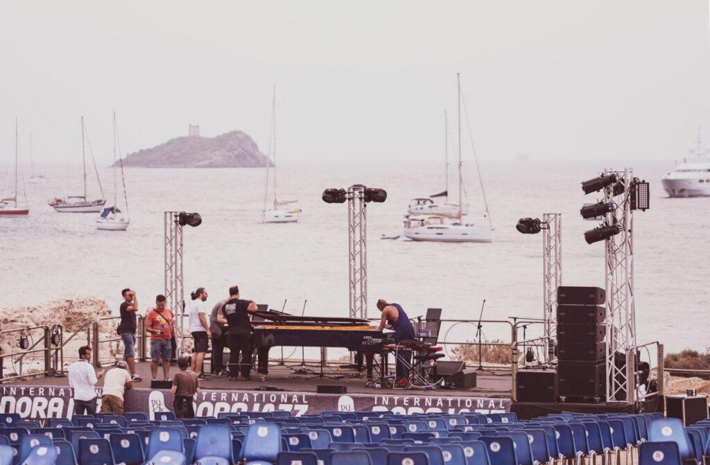 Nora Jazz - Barbara Pau - festival - Nora - Anfiteatro Romano - 31 luglio 2021 - live reort - Simone La Croce - Claudio Loi - 2021 - Sa Scena - 20 agosto 2021