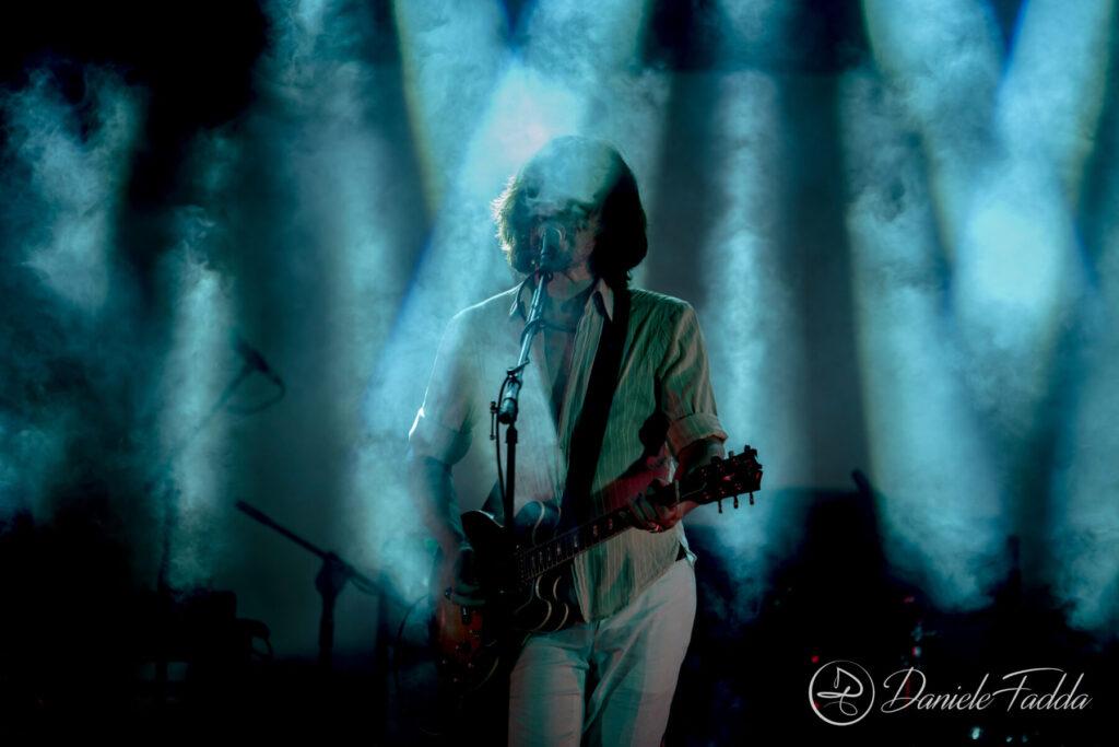 Marlene Kuntz - Post Pandemic Tour - Daniele Fadda - Anfiteatro Parco Urbano - Capoterra - concerto - 4 settembre 2021 - live report - 2021 - Sa Scena - 7 settembre 2021